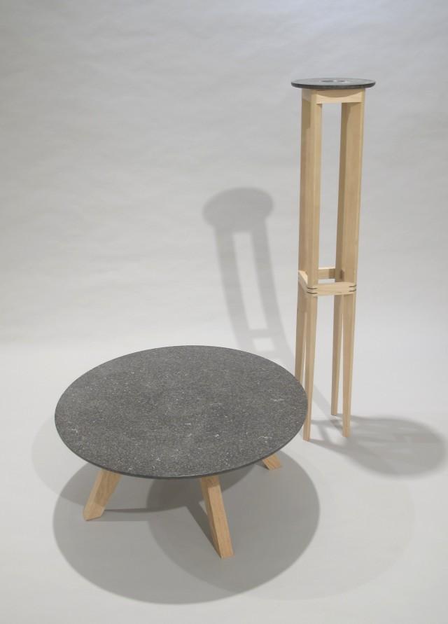 Meteorite Table & Comet Stand