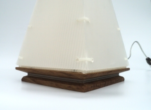 Corset Lamp base detail