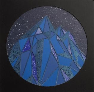 Mountains, Midnight Blue 2017
