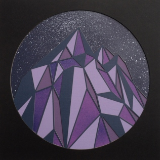 Mountains, Midnight Purple 2017
